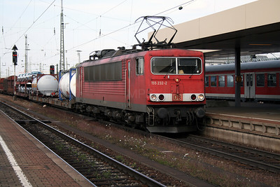DB, 155 232 at Basel Bad on 15th September 2007