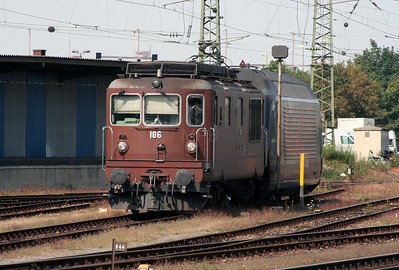 BLS, 186 at Basel Bad on 15th September 2007