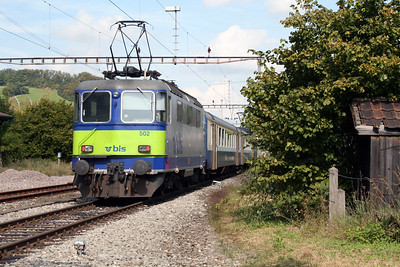 3) BLS, 420 502 at Laufelfingen on 15th September 2007