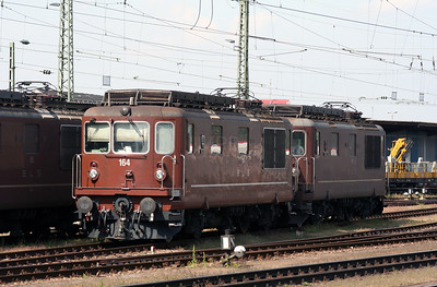 BLS, 164 at Basel Bad on 15th September 2007.