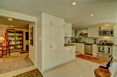 kitchen living room from entry