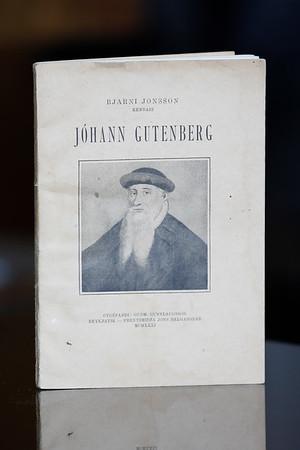 Jóhann Gutenberg : æfisaga