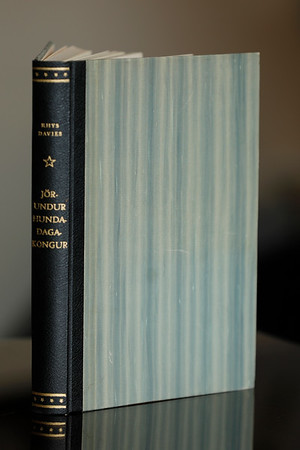 Jörundur hundadagakongur : ævintýri hans og æviraunir / Rhys Davies