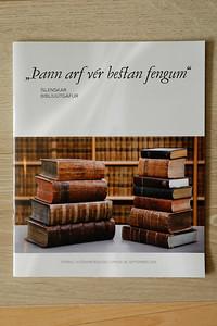 """""""Þann arf vér bestan fengum"""" : íslenskar biblíuútgáfur"""