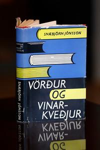 Vörður og vinarkveðjur : greinasafn