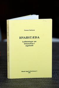Hvarstæða : leiðbeiningar um bókanotkun í sagnfræði / Gunnar Karlsson