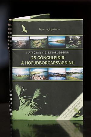 25 gönguleiðir á höfuðborgarsvæðinu : náttúran við bæjarvegginn