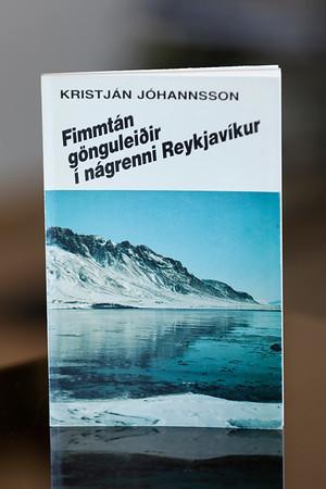 Fimmtán gönguleiðir í nágrenni Reykjavíkur