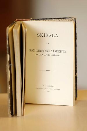 Skýrsla um hinn lærða skóla í Reykjavík 1892-1898
