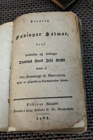 Þrjátíu Fædíngar Sálmar útaf holdtekju og fædíngu Drottins Vors Jesú Krists / kvednir af Síra Gunnlaugi sál. Snorrasyni