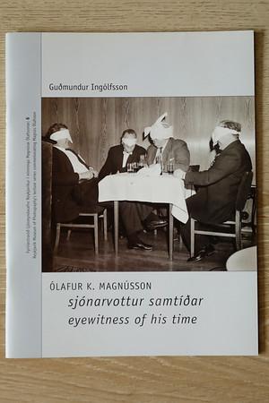 Ólafur K. Magnússon : sjónarvottur samtíðar