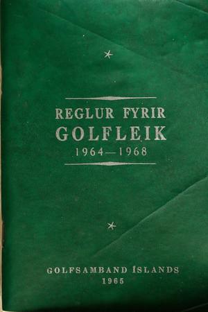 Reglur fyrir golfleik 1964-1968
