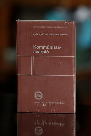 Kommúnistaávarpið / Karl Marx og Friedrich Engels