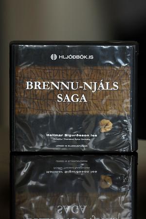 Brennu-Njáls saga [hljóðbók] / Hallmar Sigurðsson les