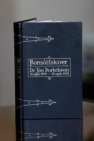 Fornólfskver : dr. Jón Þorkelsson 16. apríl 1859 - 16. apríl 1959