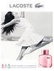 Eau de LACOSTE L.12.12 pour Elle Pétilante 2016 France 'L'esprit de la jupe plissée dans une collection de parfums'