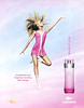 LACOSTE Touch of Pink 2005 US (The Bay stores) 'A sparkling new fragrance bursting with energy'