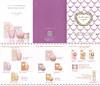 LADURÉE Les Merveilleuse Body Collection (Dragée - Orange - Rose - Roudoudou -Violet) Body Soap - Body Milk - Hand Cream - Body Gommage - UV Protection 2016 Hong Kong (6-face foldout, format 11 x 14 cm)