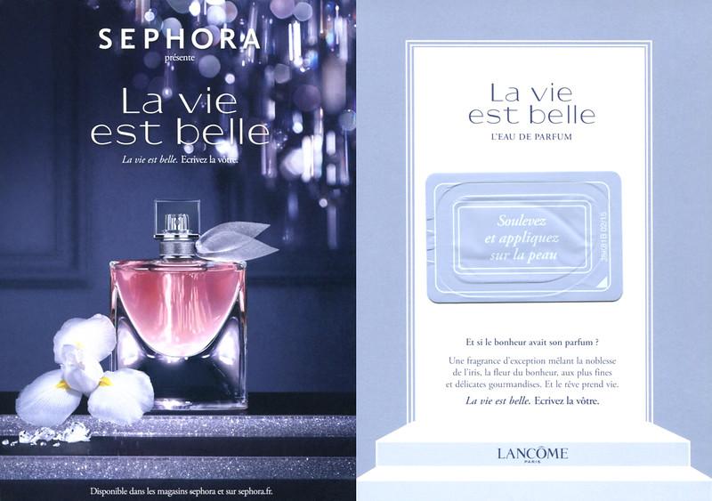 3010bf1fe637e sephora la vie est belle eau de parfum - www.attractifcoiffure.fr