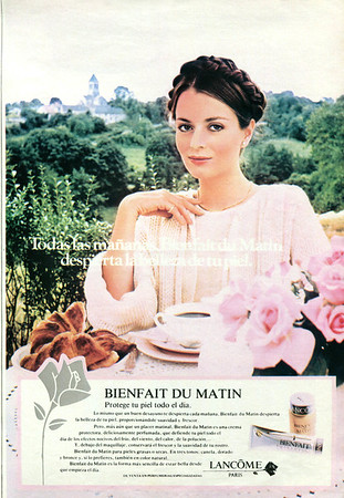 LANCÔME Bienfait scented cream 1980 Spain