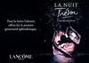 LANCÔME Trésor la Nuit 2015 France (format 29 x 21 cm) 'Le nouveaau parfum féminin - Pour la Saint-Valentin offrez-lui le premier gourmand aphrodiasique'