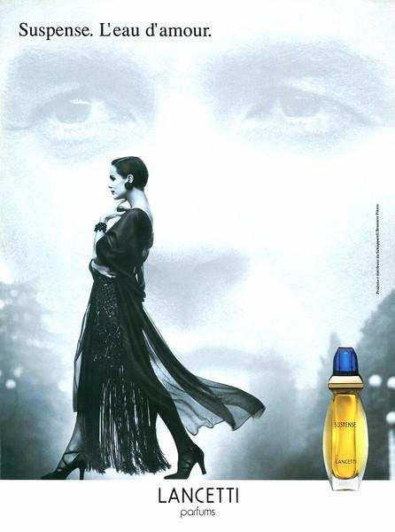 LANCETTI Suspence 1995 Italy 'Suspense. L'eau d'amour'