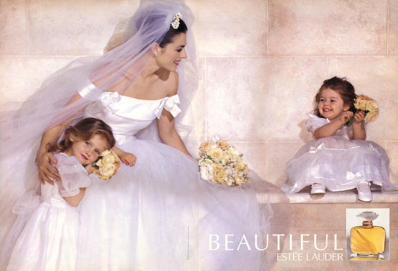 ESTÉE LAUDER Beautiful 1995-1996 US spread