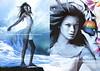 ESTÉE LAUDER Beyond Paradise 2004  Spain (recto-verso with scent strip) 'decubra una nueva fantasía en fragancia - embriaga los sentidos'