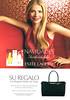 ESTÉE LAUDER Diverse (Beautiful - Pure White Linen Light Brezze -  Pleasures) <br /> 2008 Spain (handbag size format) 'Navidades inolvidables - Su regalo - Un elegante bolso de viaje'