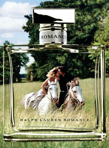 RALPH LAUREN Romance 2011 US spread 'A love story - The women's fragrance by Ralph Lauren'