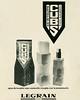 LEGRAIN Cubs 1975 Spain 'Agua de tocador cuyo contenido compite con la presentación'