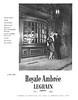 LEGRAIN Royale Ambrée 1960 Spain 'Famosa y apreciada en todo el mundo desde 1919'