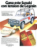 LEGRAIN Tension 1985 Spain 'Gana este  Suzuki con tension de Legrain'
