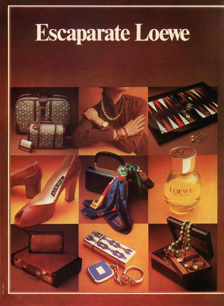 LOEWE pour Homme 1975 Spain 'Escaparate Loewe'