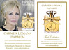 CARMEN LOMANA First Collection Parfum 2013 Spain spread (text in Russian) 'Especial Top Russ - Carmen Lomana Парфюм'