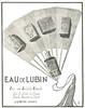 Eau de LUBIN 1924 France (small format) 'Eau de Toilette Idéale'