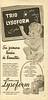 LYSOFORM Trio talcum powder, Eau de Cologne & soap 1951 Argentina 'Su primera lección de bienestar - Polvo, Colonia y Jabón'