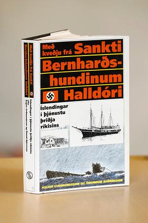 Með kveðju frá Sankti Bernharðshundinum Halldóri