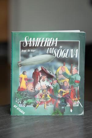 Samferða um söguna : mannkynssaga fyrir efri bekki grunnskóla / Bengt Åke Häger