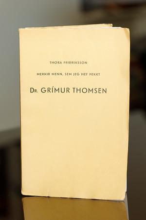 Dr. Grímur Thomsen / Thora Friðriksson