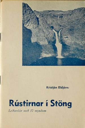 Rústirnar í Stöng : leiðarvísir / Kristján Eldjárn