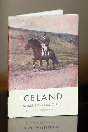 Iceland : some impressions / by Alan E. Boucher