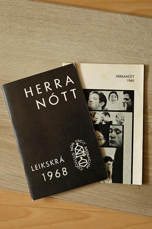 Leikskrár Herranætur 1968-9