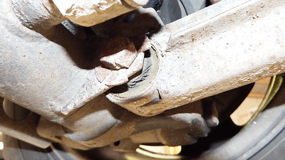 Rear radius arm bushes worn