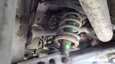 Rear dampers - Rusty, Original