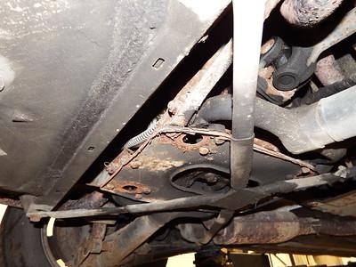 More rear suspension rust...