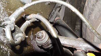 Damaged / Corroded brake hose union