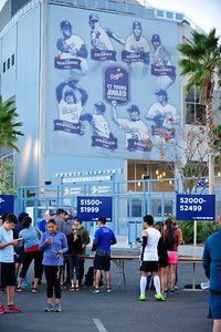 2016 Big 5 5k at Dodger Stadium  February 13, 2016     ©2016 Rich Cruse \ LA Marathon