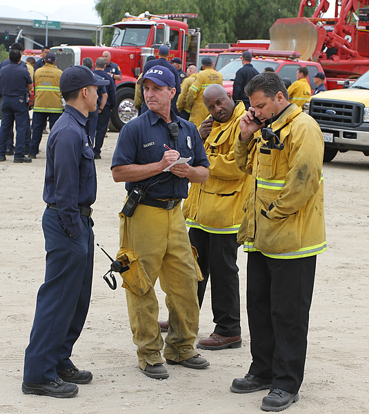 MULTI AGENCY BRUSH FIRE DRILL HANSEN DAMM___24