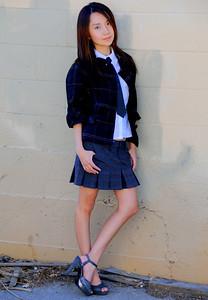 beautiful la woman model 555.090..
